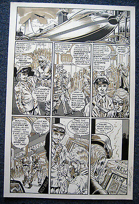 Tim Vigil Original Art Faust Act 7 page 7  Love of the Damned