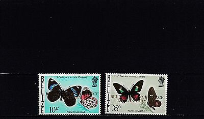 a102 - BELIZE - SG462-463 MNH 1978 OVPT BELIZE DEFENCE FORCE