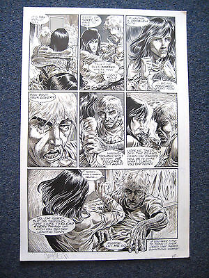 Tim Vigil Original Art Faust Act 8 Page 15 Love of the Damned