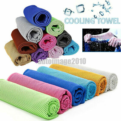 Fitness Dry Cooling Sports Face Iced Sweat Towel for Gym Travel Camping Swimming