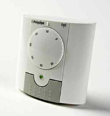 Polypipe wireless dial room thermostat for underfloor heating. PBRS RF