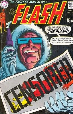 Flash, The 193 Strict 1969 FN 6.0 Mid-Grade Captain Cold Cover Story Wow 50% Off