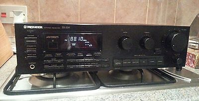 Vintage Pioneer SX-339 stereo receiver amplifier. Made in Japan