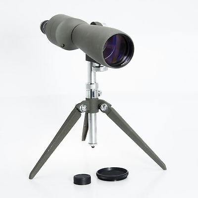 Bushnell Spacemaster II Spotting Scope 20-45X Zoom Eyepiece And TablePod Bundle