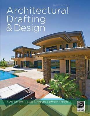 Architectural Drafting and Design by Alan Jefferis (English) Hardcover Book Free
