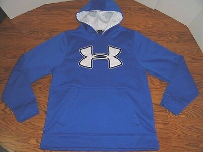 "Under Armour ""storm"" Hoodie Mens Size Medium Loose Blue"