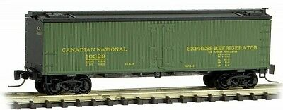 Micro Trains 51800411 Z Canadian National 40' Wood Reefer #10329