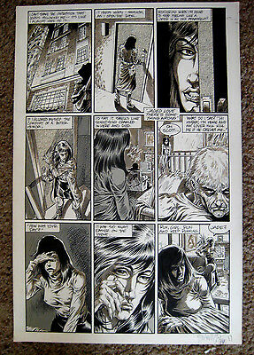 Tim Vigil Original Art Faust Act 8 page 14  Love of the Damned