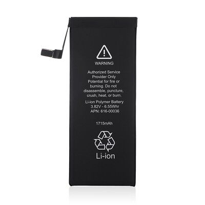 """3.8V 1715mAh Li-ion Battery Replacement With Flex Cable For Apple iPhone 6S 4.7"""""""