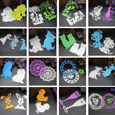 WOW! Metal Cutting Dies Stencil For DIY Scrapbooking Embossing Paper Card Decor