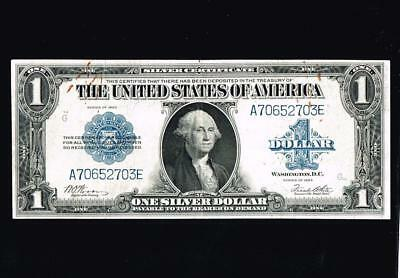 1923 Large Size Silver Certificate $1  ~~