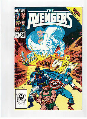 Marvel Comics, Avengers, November 1985 # 261 !!