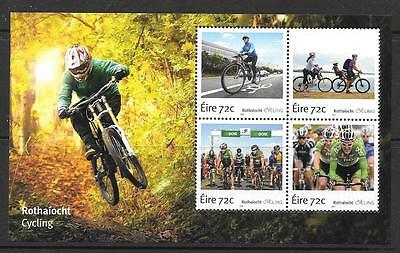 Ireland 2016 Cycling In Ireland M/sheetmnh