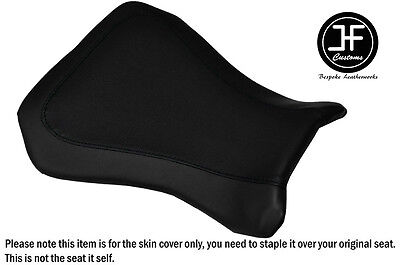 BLACK AUTOMOTIVE VINYL CUSTOM FOR RIEJU RS2 125 REAR PILLION SEAT COVER ONLY