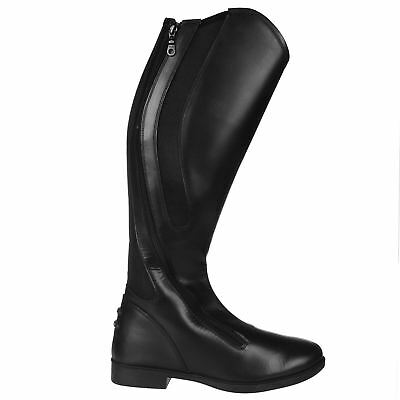 Toggi Womens Cartwright Riding Boots Shock Absorbing Equestrian Zip Shoes