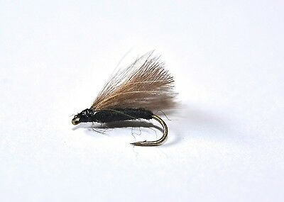 DARK OLIVE Dry Fly Trout /& Grayling fly Fishing flies Dragonflies