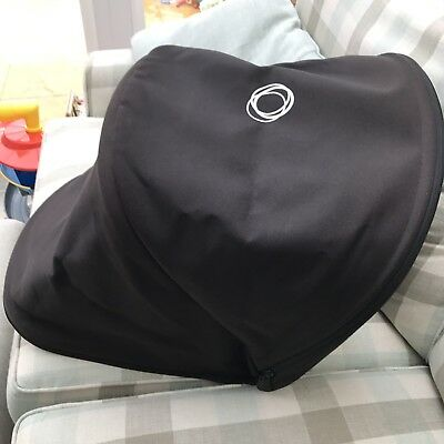Bugaboo Cameleon 3 Extendable Extending Black Hood Canopy Buggy Parts