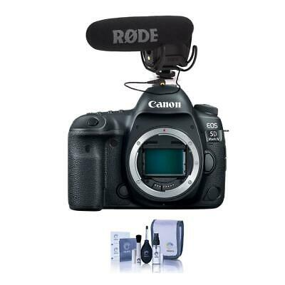 Canon EOS 5D Mark IV DSLR Body W/Rode VideoMic Pro R Cardioid Condenser Mic