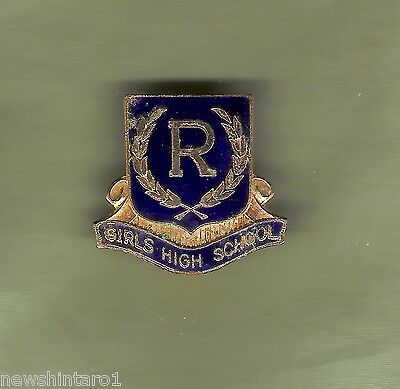 #d244.  Randwick  Girls  High  School  Lapel  Badge