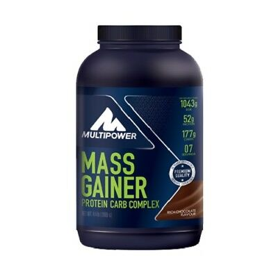 Multipower Mass Gainer 13,00€/kg 2000g Kohlenhydrate Masse Weight gainer