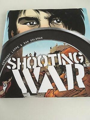 SHOOTING WAR - Anthony Lappe, Dan Goldman - Hardback First Edition