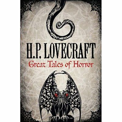 H. P. Lovecraft: Great Tales of Horror - Hardcover NEW Lovecraft, H. P 10/08/201