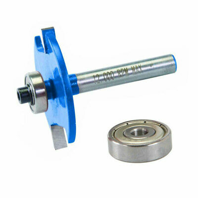 No.10(13Mm Bearing) No.20(19Mm Bearing) - 12Mm Biscuit Cutter Router Bit 254902