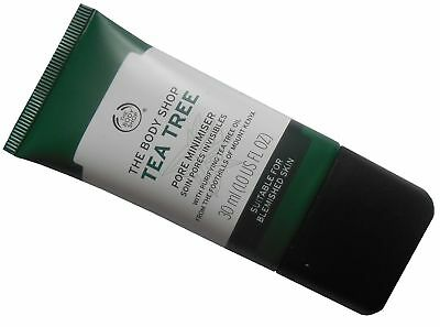 Body Shop Tea Tree Pore Minimiser - Skin Mattifier