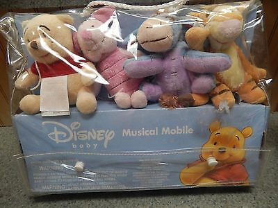 New Disney Musical Mobile Baby Winnie The Pooh