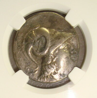 2nd-1st Centuries BC Pamphylia, Side Ancient Greek Silver Tetradrachm NGC