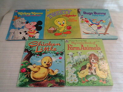 Lot Of 5 Vintage Tell A Tale Books