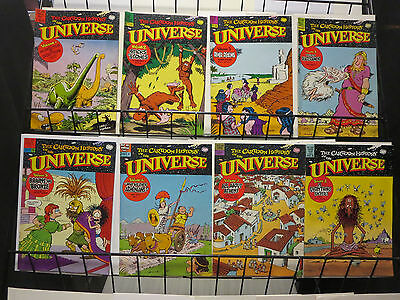 Cartoon History of the Universe Vol. #1-8 (Rip Off Press 1978-91) by L. Gonick