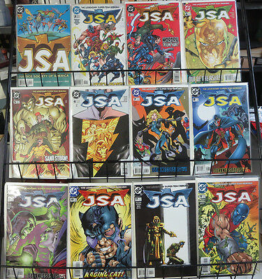 JSA #1-87, lot of 60 diff DC comics books 1999-2006 VF-NM Justice Society Shazam