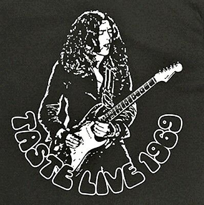 Rory Gallagher t shirt Taste w stratocaster Vintage Style guitar rock S-5XL blk