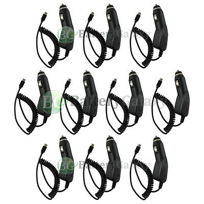 10X USB Type C Car Charger for Android Phone Motorola Moto Z Force / Play Droid