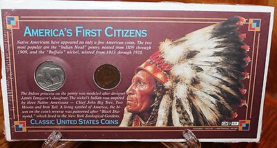 One American's First Citizens  Indian Head Coin Set
