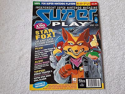 Super Play Magazine Issue 6 *rare*very Good Condition*