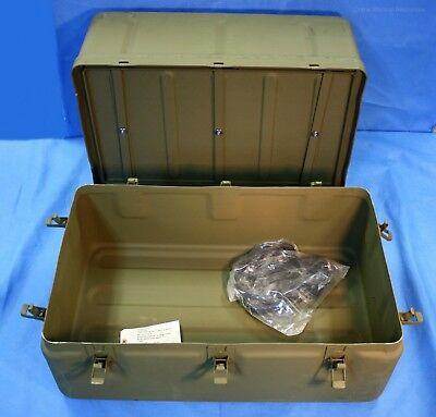 Military Medical Instrument Supply Aluminum Field Chest #6 w/ New Gasket