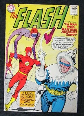 Flash #134 (1963) DC Nice VF Captain Cold CA144