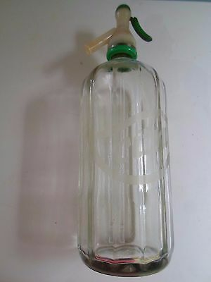 Vintage Retro Citra Glass Soda Siphon by the Citra Group - Display or Prop