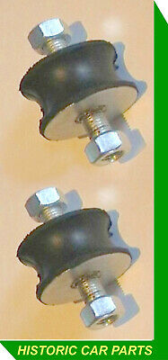 Mounting Bobbins & nuts for Exhaust Systems on 1940-70s cars