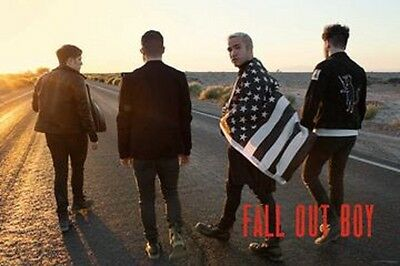 Fall Out Boy Group Photo Poster New  !