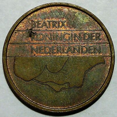 Rare 1997 Netherlands 5 Cents KM#202 About Uncirculated No Reserve!