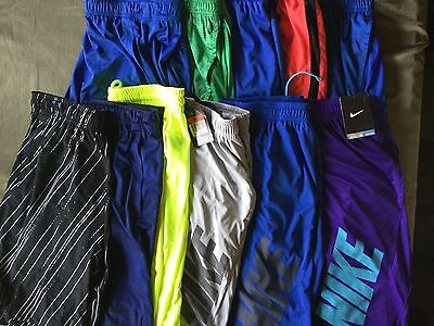 Nike Training Basketball Running Shorts New Tags Men Blue Red Green Purple Black