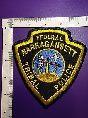 Narragansett Rhode Island Tribal Police  Shoulder  Patch