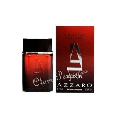 Azzaro Pour Homme Elixir Edt Miniature Collectible 0.23oz 7ml * New in Box *