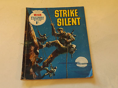 WAR PICTURE LIBRARY NO 218!,dated 1963!,GOOD for age,great 54!YEAR OLD issue.