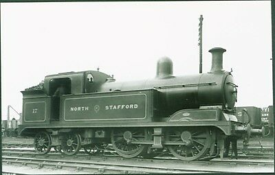 """NSR """"New M"""" Class 0-4-4T No. 17. Real Photographs Broadstairs PC Sized Photo"""