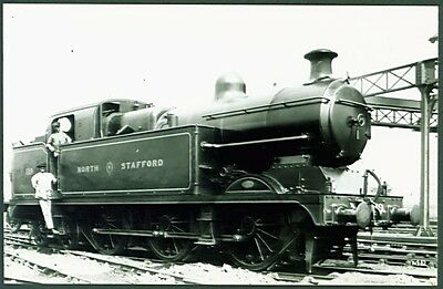 """NSR """"New F"""" Class 0-6-4T No. 119. Real Photographs Broadstairs PC Sized Photo"""