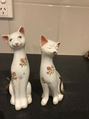 Vintage Pair Of Gorgeous Cats